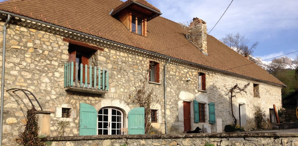 La ferme de Marthe - Gîte Vercors - saint baudille et pipet