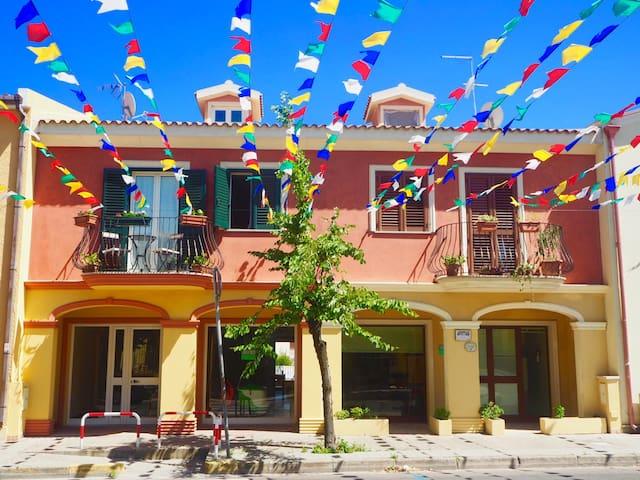 Appartement met tuin nabij piazza - Pula - Appartement