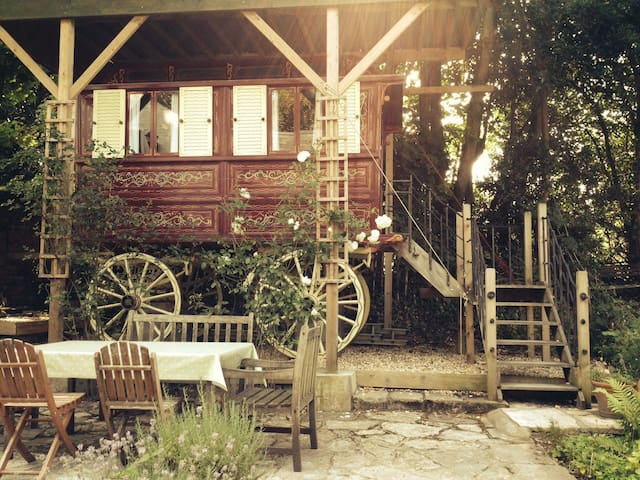 Rosie the Gypsy Wagon - Milford on Sea - Bed & Breakfast