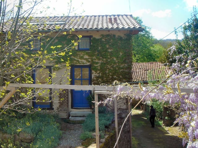Detached Tranquil French Farmhouse - Lieurac - Huis