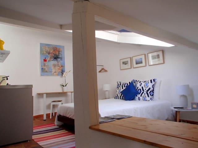 Studio Bleu-Coton, Moustiers - Moustiers-Sainte-Marie - 公寓