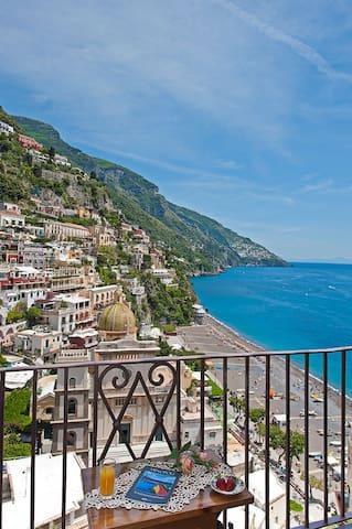 """Studio-apt """" Le Sirene""""  best view - Positano - Çatı Katı"""
