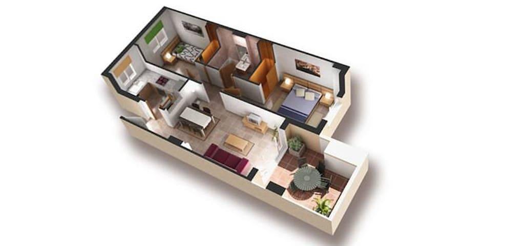 Luxury Penthouse on Marina Dor - Cabanes - Apartmen