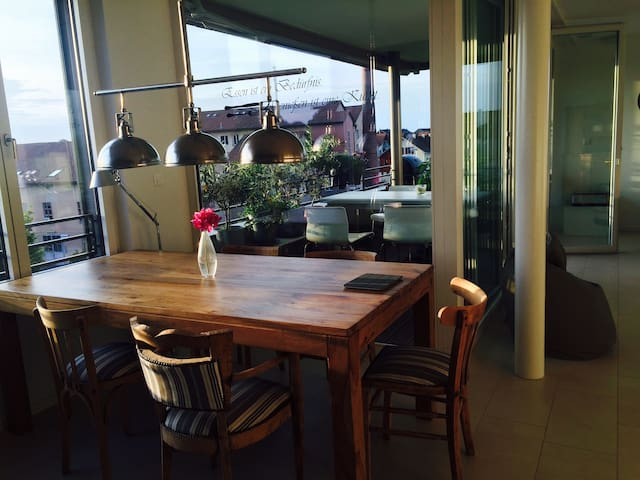 Flat close to Basel - Oberwil - Appartement