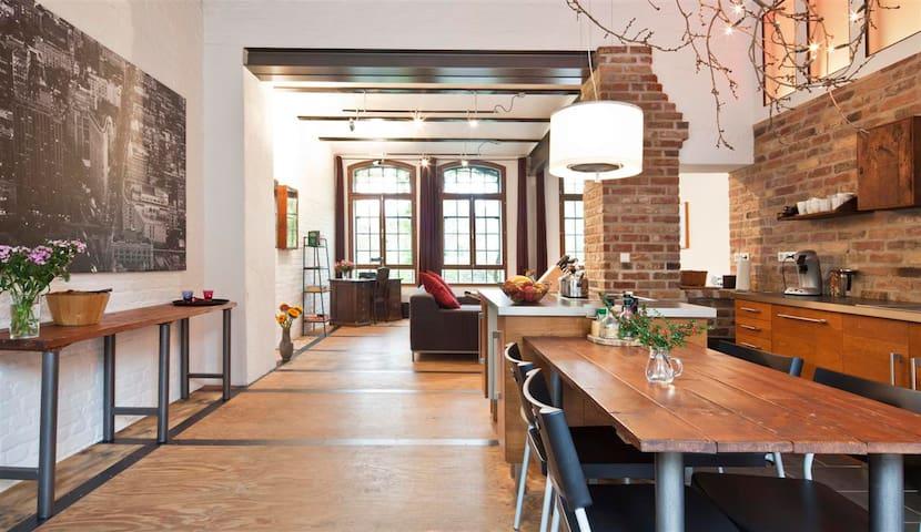 Obenrüdener Kotten, Loft - Solingen - Loteng Studio