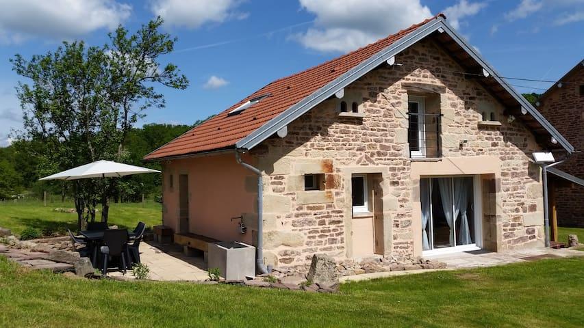 Maisonnette des 1000 étangs - Esboz-Brest - Huis