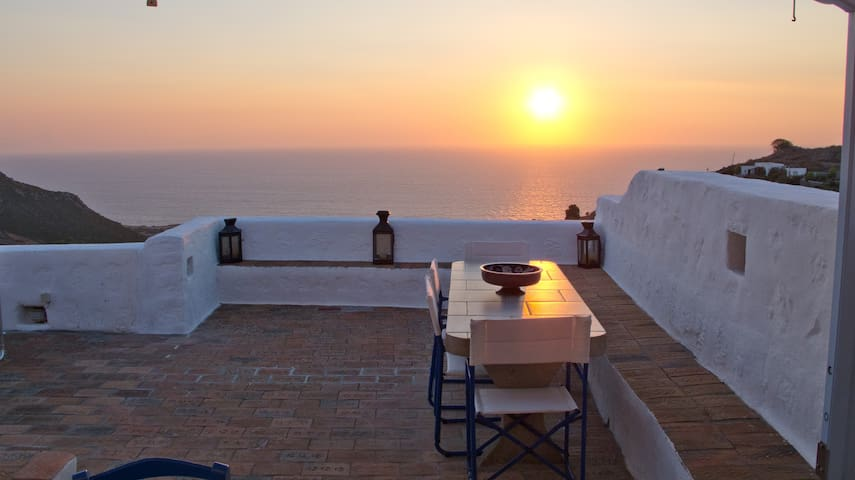 Luxury House with Breathtaking View - Patmos - Vila