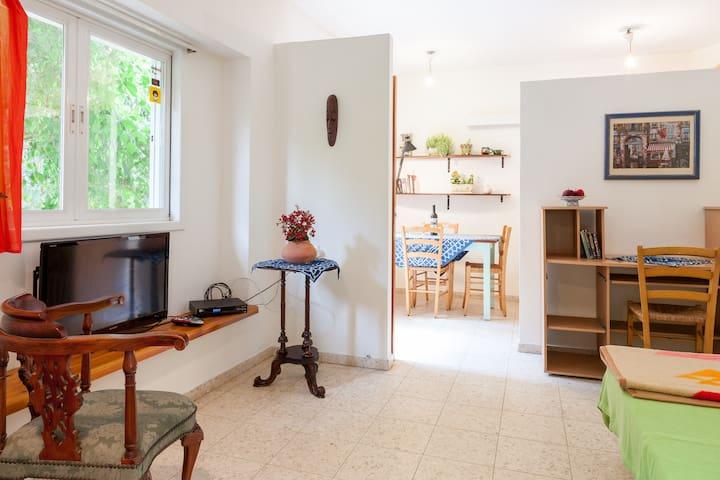 one room studio apartment +  garden - Mazkeret Batya