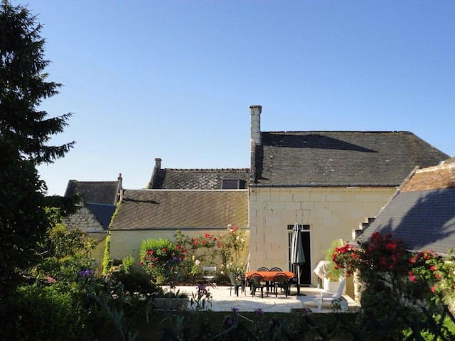 Maison de charme des bords de Loire - Rigny-Ussé - Huis