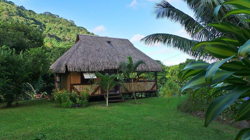 Bungalow polynésien à Moorea - AFAREAITU - Bed & Breakfast