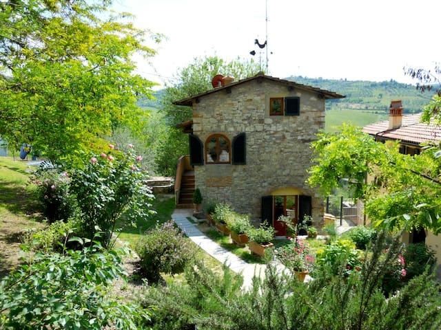 La Casina, in Tuscany countryside - Pelago - Casa