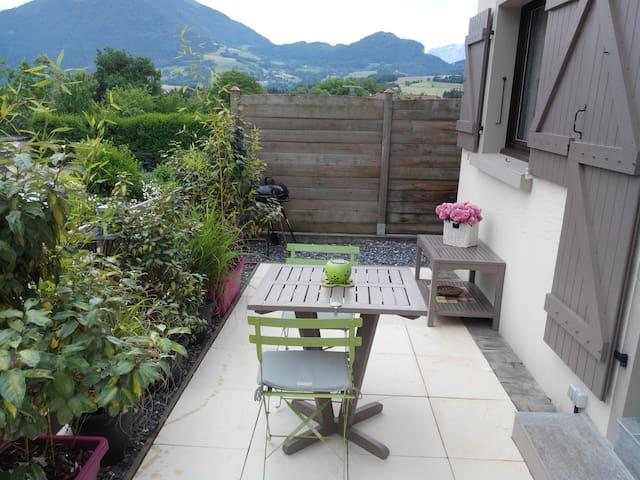 Maison de village en Haute-Savoie - Peillonnex - Casa