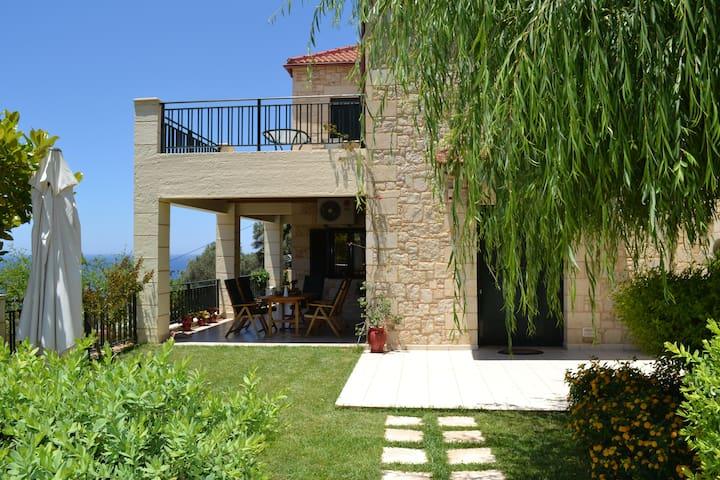 Villa Klio with sea view and  pool - Kissamos - Villa