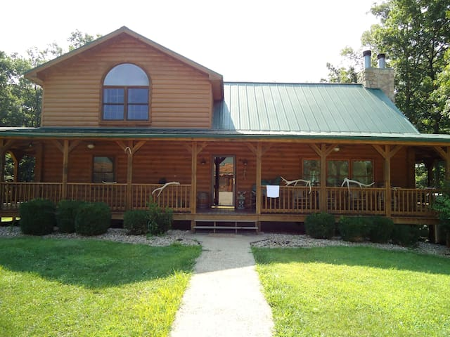 Luxury Log Home- Near French Lick - Shoals - Hus