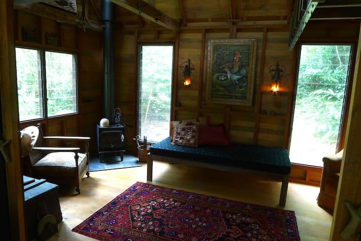 Arty Rainforest Cabin Eumundi Qld - Eerwah Vale - Casa de campo