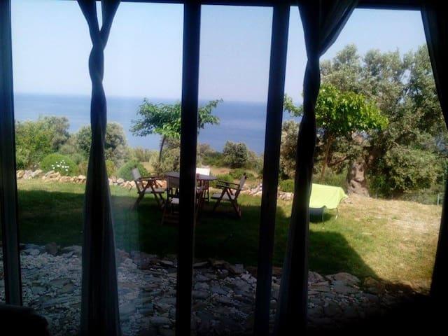 Villa with sea view - Evia - Huis