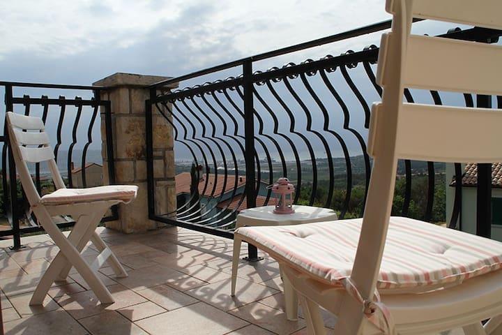 Relaxing apartment to chillex - Zgornje Škofije - Appartement