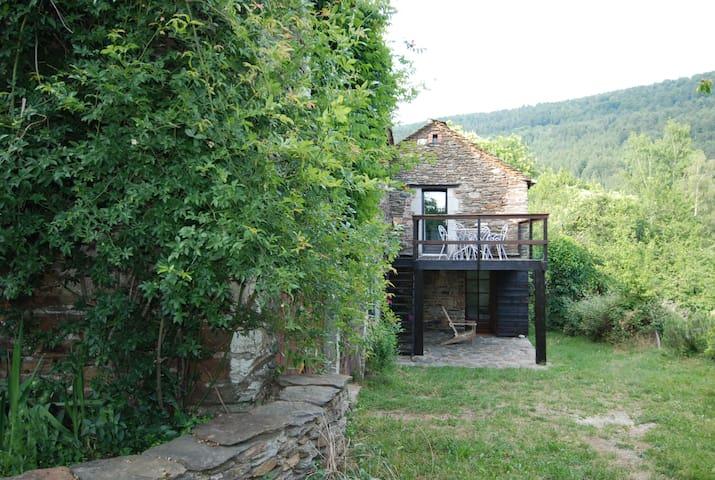 Le Pailler des Fourniéres - Ponteils-et-Brésis - Hus