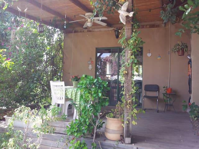 Pastoral house + veranda & garden - Ben Shemen - Hus