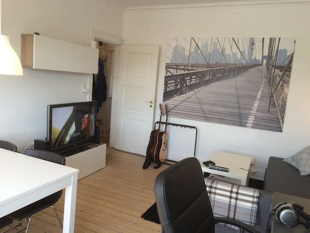 Cozy apartment in central Aalborg! - Aalborg - Pis