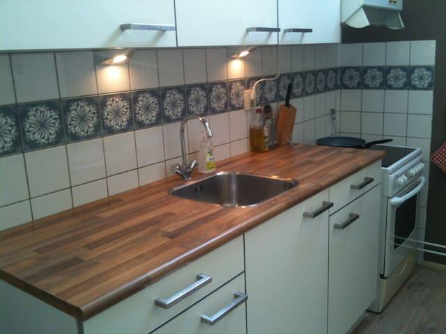 Ruimte met eigen keuken en balkon - Wijchen - Appartement
