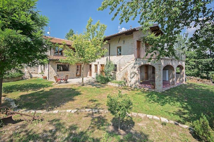 Villa de charme au cœur du Piémont - Marsaglia - Villa