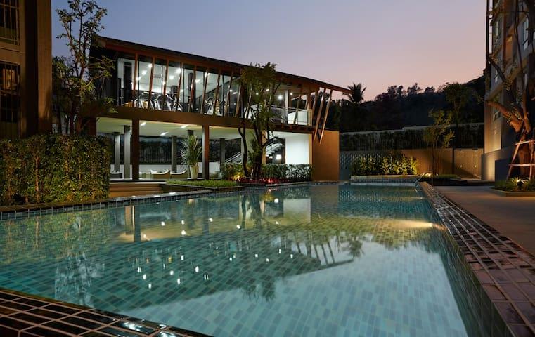 CLEAN CM University+foodstalls+Pool - 清邁 - 公寓