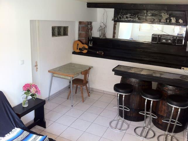 Hatten/appartement atypique de 60m² - Hatten - Huoneisto