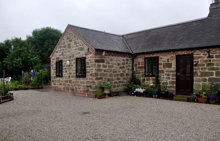 The Old Smithy,bedroom+sitting room - Tong Norton, near Shifnal, Shropshire