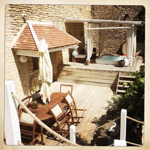 Maison ancienne 1771 - Gemeaux - 단독주택