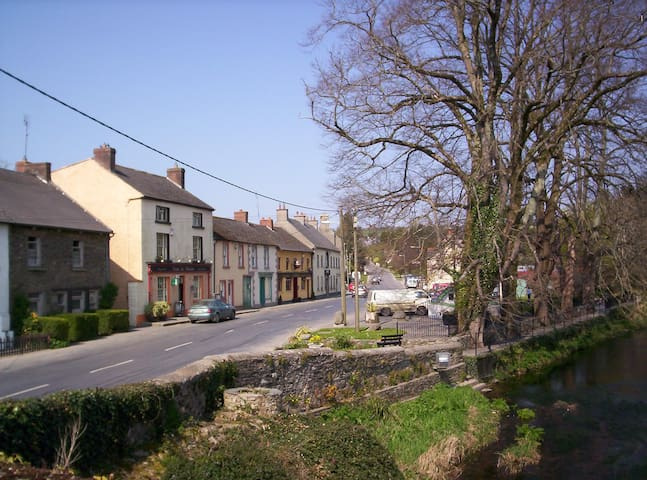 A detached house in small Village. - co carlow - Huis