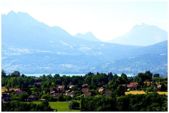 Ambiance chalet - Argonay - Casa
