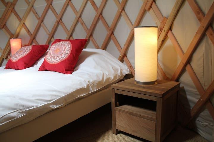 Cosy yurt in Burgundy - Batilly-en-Puisaye - Yurt