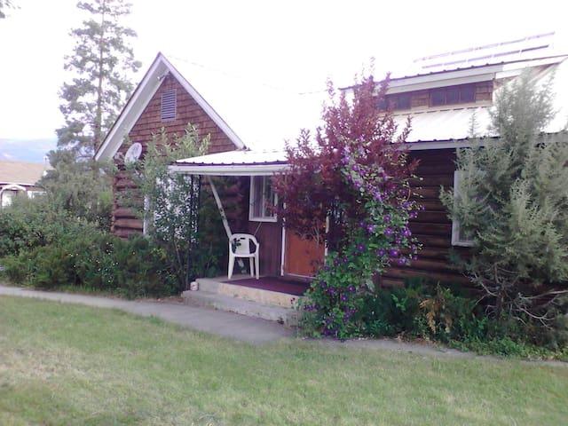 The big log home...bring the family - Cedaredge - Stuga