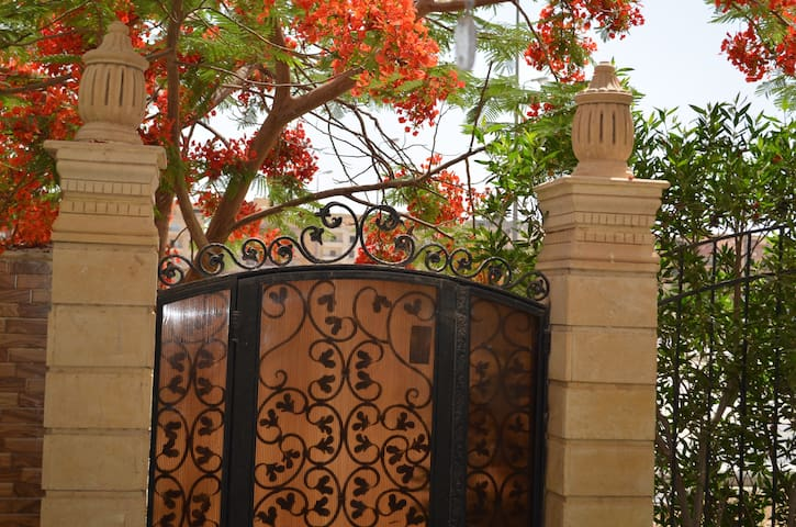 Charming flat in Cairo with garden - Sheikh Zayed City - Appartement