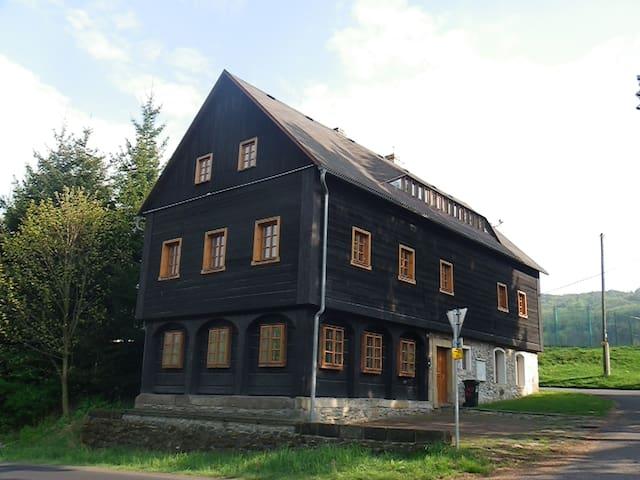 """Chalupa """"Lelkovna""""  Lužické hory - Dolní Podluží - Chalet"""