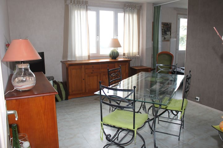 Appart. confortable 70m², parking - Cahors - Huoneisto
