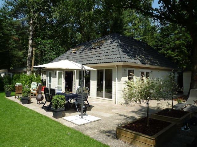 8 persoons vakantiehuis met sauna - Diessen - Blockhütte