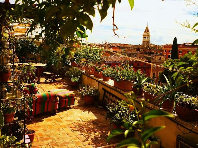 Roofgarden Rome, Termini Station - Rome