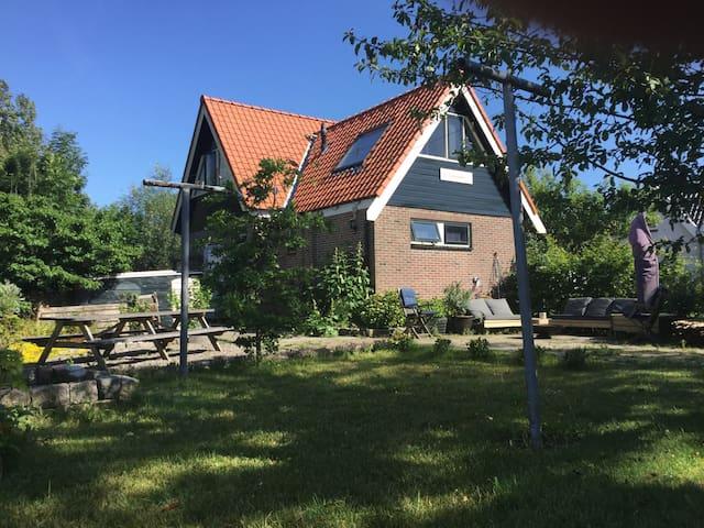 Family house; large garden and beach - Schagen - Casa