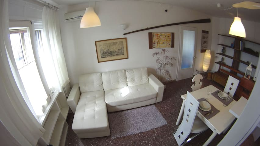 LITTLE GARDEN VENICE Boat & Bed - Venise - Maison