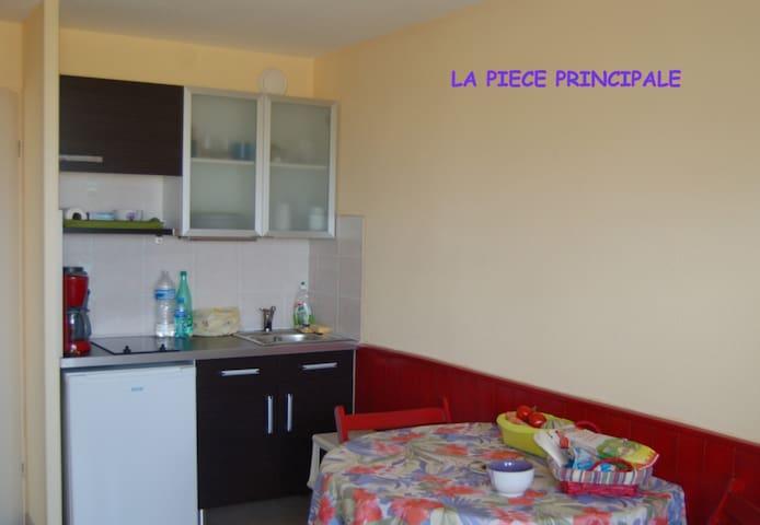 T2 vue sur mer - Donville-les-Bains - Apartamento