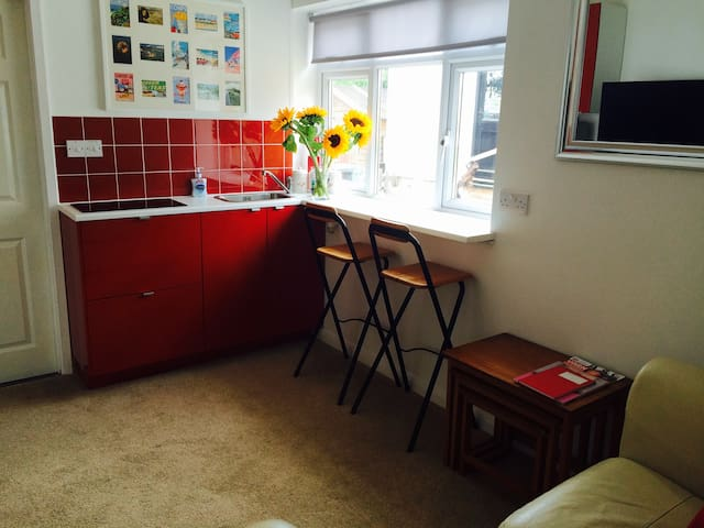 Cosy annex near sea with parking - Lyme Regis - Appartement