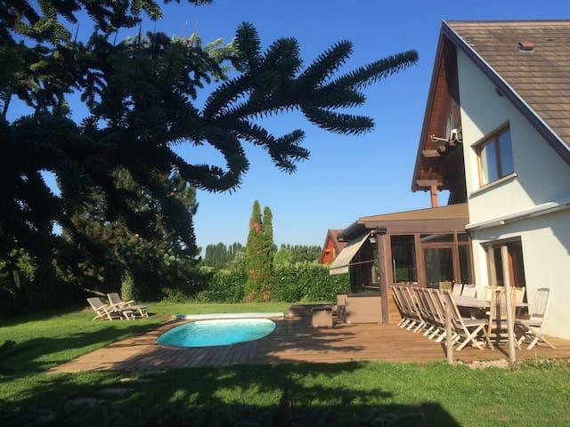 VILLA DES COLLINES -160 M2 - Furdenheim - Villa