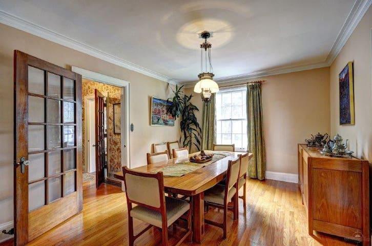 Room in lovely Country Home in central Hunstville - Huntsville - Huis