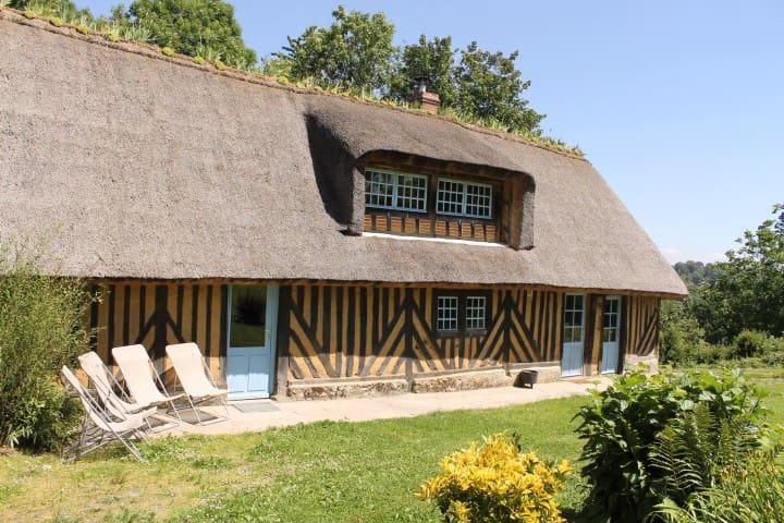 Chaumière normande - 6 km Honfleur - Ablon