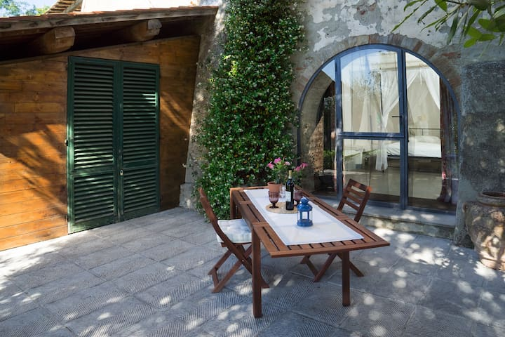 Nice tuscan house with private pool - Montespertoli