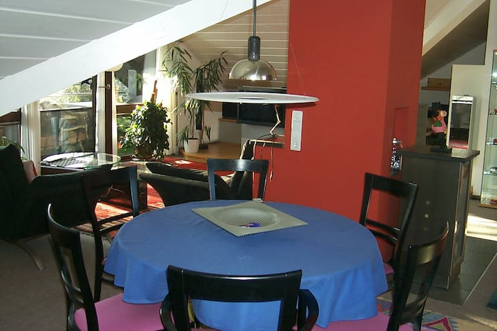 Calm holiday flat near golf course - Bad Überkingen - Leilighet