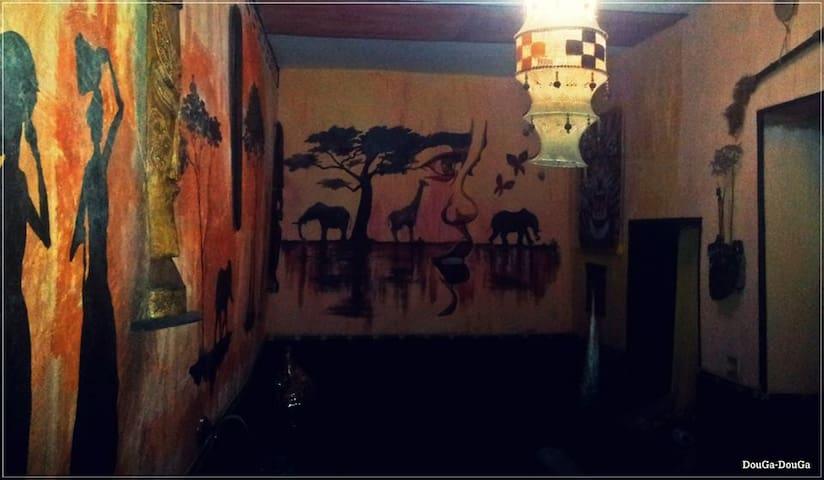 DouGa-DouGa African Room & Lounge - Tetouan - Hus