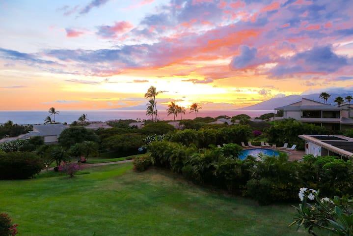 Wailea Ekolu 180˚ Ocean View Condo - Wailea-Makena - Appartement